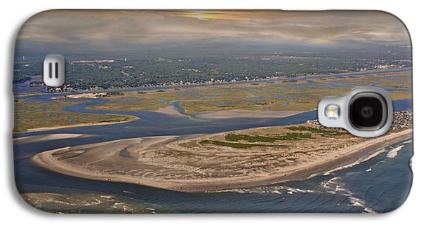 Timing Galaxy S4 Cases - Heavens View Topsail Island Galaxy S4 Case by Betsy C  Knapp