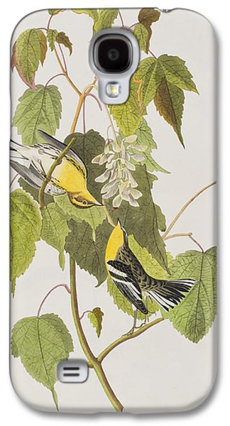Hemlock Warbler Galaxy S4 Case by John James Audubon