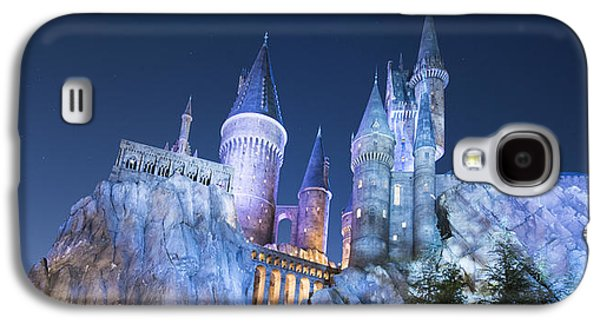 Wizard Photographs Galaxy S4 Cases - Hogwarts Castle Galaxy S4 Case by Noah Bryant