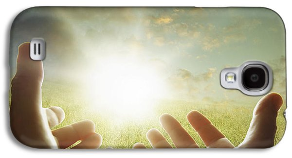 Person Galaxy S4 Cases - Hope Galaxy S4 Case by Les Cunliffe
