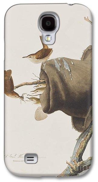 House Wren Galaxy S4 Case by John James Audubon
