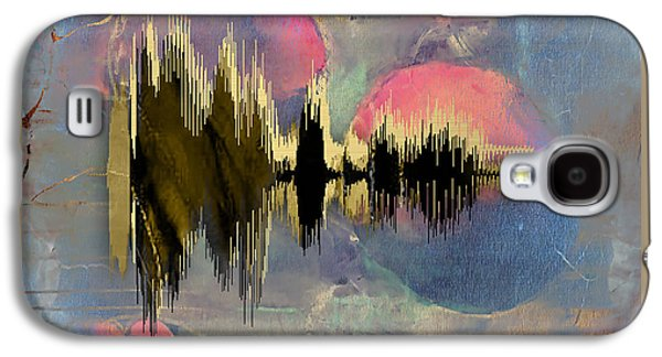 I Love You Sound Wave Galaxy S4 Case by Marvin Blaine