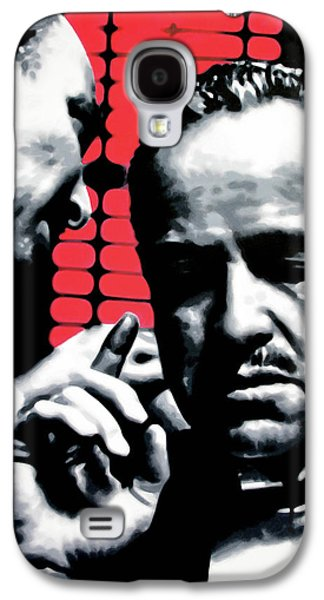 The Godfather Galaxy S4 Cases - I Want You To Kill him Galaxy S4 Case by Luis Ludzska