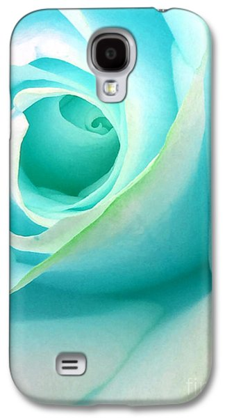 Ice Blue Galaxy S4 Case by Krissy Katsimbras