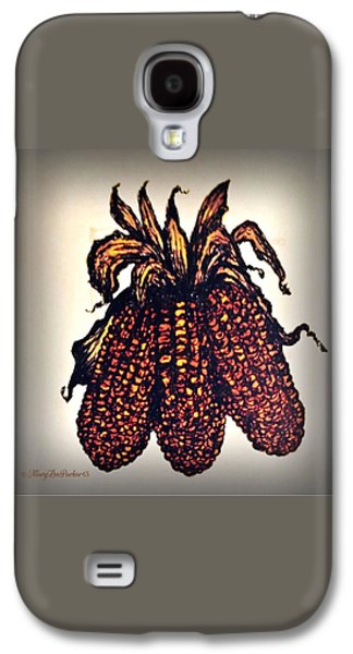 Indian Corn Galaxy S4 Case by MaryLee Parker