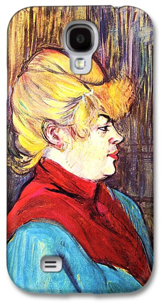 Prostitution Paintings Galaxy S4 Cases - Inhabitant of a Brothel Galaxy S4 Case by Toulouse Lautrec