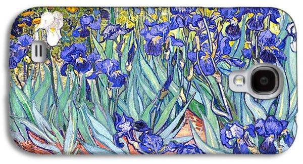 Irises Galaxy S4 Case by Van Gogh