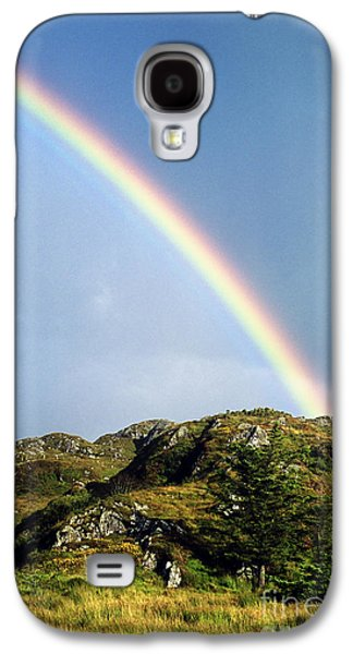 Rainbow Galaxy S4 Cases - Irish Rainbow Galaxy S4 Case by John Greim