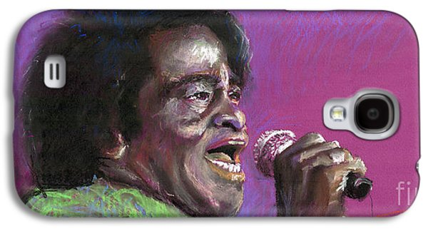 Jazz Galaxy S4 Cases - Jazz. James Brown. Galaxy S4 Case by Yuriy  Shevchuk