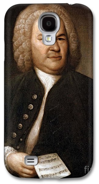 Personalities Photographs Galaxy S4 Cases - Johann Sebastian Bach, German Baroque Galaxy S4 Case by Photo Researchers