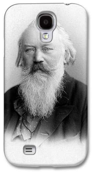 Pianist Photographs Galaxy S4 Cases - Johannes Brahms Galaxy S4 Case by Granger