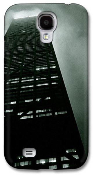Business Galaxy S4 Cases - John Hancock Building - Chicago Illinois Galaxy S4 Case by Michelle Calkins