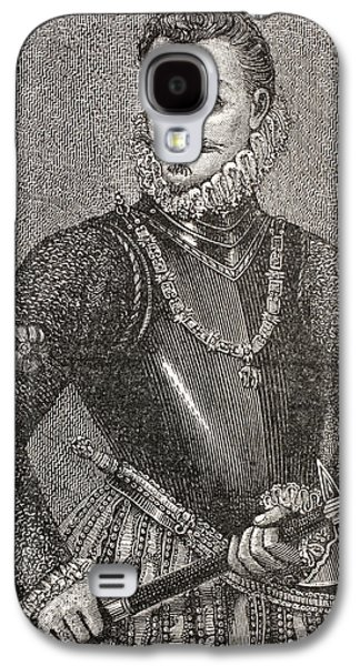 Austria Drawings Galaxy S4 Cases - John Of Austria, 1547 To 1578, Aka Don Galaxy S4 Case by Vintage Design Pics