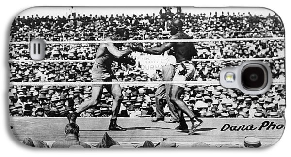 Boxer Galaxy S4 Cases - Johnson Vs. Jeffries, 1910 Galaxy S4 Case by Granger