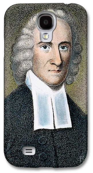 Colonial Man Photographs Galaxy S4 Cases - Jonathan Edwards Galaxy S4 Case by Granger