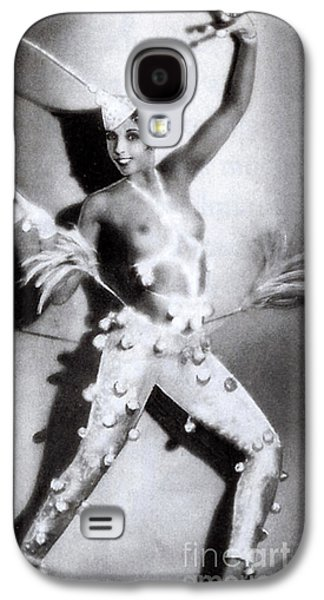 Nudes Photographs Galaxy S4 Cases - Josephine Baker Galaxy S4 Case by Stanislaus Walery