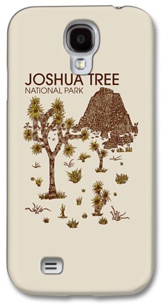 Park Galaxy S4 Cases - Joshua Tree National Park Galaxy S4 Case by Hinterlund