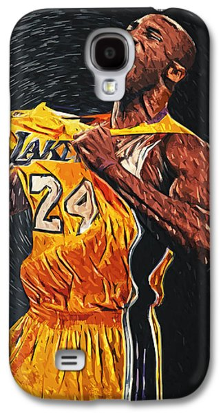 Olympic Gold Medalist Galaxy S4 Cases - Kobe Bryant Galaxy S4 Case by Taylan Soyturk