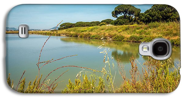 Park Scene Galaxy S4 Cases - Lake Landscape Galaxy S4 Case by Carlos Caetano