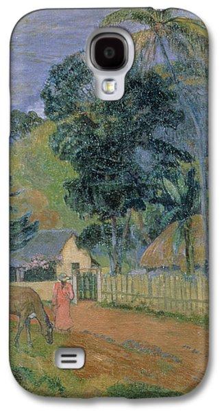 Landscape Galaxy S4 Case by Paul Gauguin