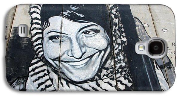 Separation Paintings Galaxy S4 Cases - Leila Khaled Galaxy S4 Case by Munir Alawi