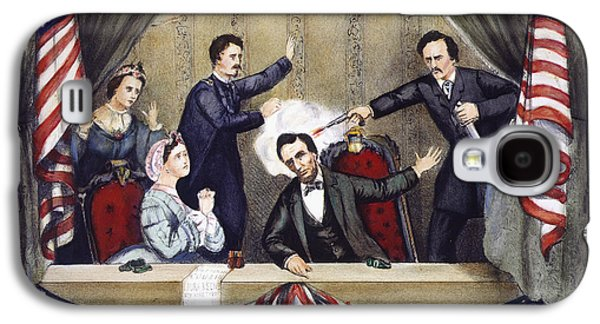 Republican Party Galaxy S4 Cases - Lincoln Assassination Galaxy S4 Case by Granger