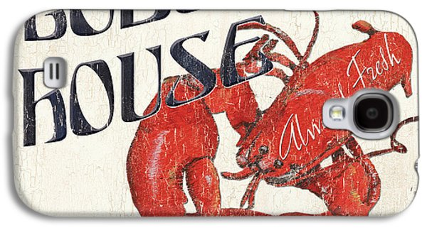 Claw Paintings Galaxy S4 Cases - Lobster House Galaxy S4 Case by Debbie DeWitt