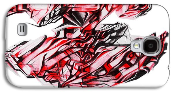 Abstract Digital Drawings Galaxy S4 Cases - Logo The door Galaxy S4 Case by The Door Project