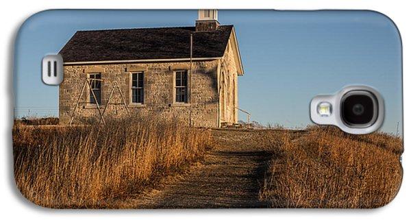 Lower Fox Creek School Galaxy S4 Case by Don Spenner