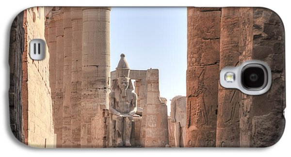 Ancient Galaxy S4 Cases - Luxor Temple - Egypt Galaxy S4 Case by Joana Kruse