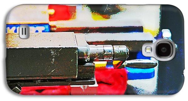 Mechanism Galaxy S4 Cases - Machine Shop Grunge 8 Galaxy S4 Case by Darrell Hutto