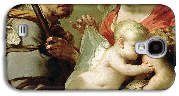 Baptist Paintings Galaxy S4 Cases - Madonna and Child Galaxy S4 Case by Gaetano Gandolfi