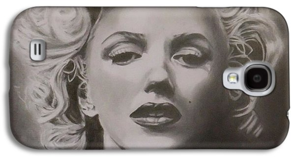 Munroe Galaxy S4 Cases - Marilyn Monroe Galaxy S4 Case by Mike OConnell