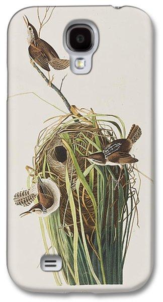 Marsh Wren  Galaxy S4 Case by John James Audubon