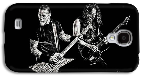 Metallica Galaxy S4 Cases - Metallica Collection Galaxy S4 Case by Marvin Blaine