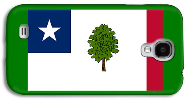 Waving Flag Mixed Media Galaxy S4 Cases - Mississippi Secession Flag Galaxy S4 Case by Frederick Holiday