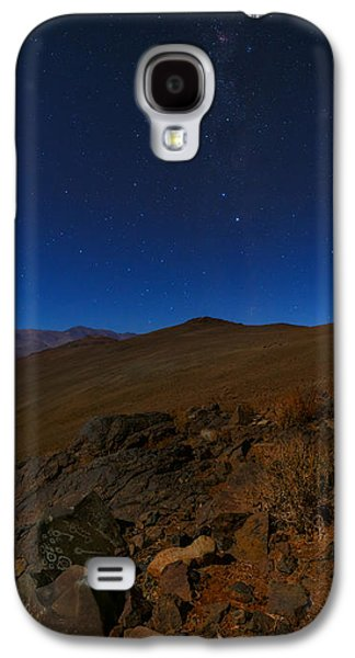Moonlit Night Photographs Galaxy S4 Cases - Moonlit Night, Atacama Desert, Chile Galaxy S4 Case by Babak Tafreshi