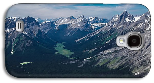 Canadian Pyrography Galaxy S4 Cases - Mountains Galaxy S4 Case by Olga Photography