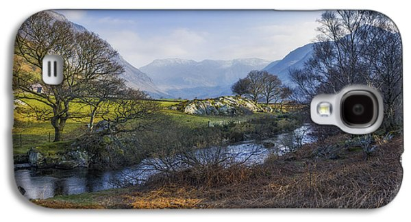 Spring Scenery Galaxy S4 Cases - Nant Ffrancon Pass Galaxy S4 Case by Ian Mitchell