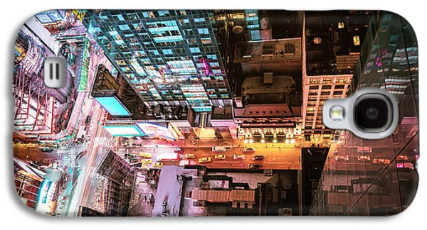 New York City - Night Galaxy S4 Case by Vivienne Gucwa