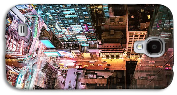 Future Photographs Galaxy S4 Cases - New York City - Night Galaxy S4 Case by Vivienne Gucwa