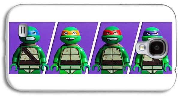 Studio Photographs Galaxy S4 Cases - Ninja Turtles Galaxy S4 Case by Samuel Whitton