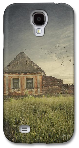 Pyrography Galaxy S4 Cases - Old House Galaxy S4 Case by Jelena Jovanovic