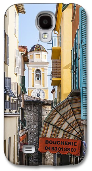 Michael Photographs Galaxy S4 Cases - Old town in Villefranche-sur-Mer Galaxy S4 Case by Elena Elisseeva