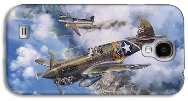 P-40 Galaxy S4 Cases - One Off At Darwin Galaxy S4 Case by Randy Green