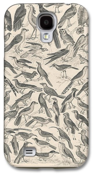 Ornithology Galaxy S4 Case by Captn Brown