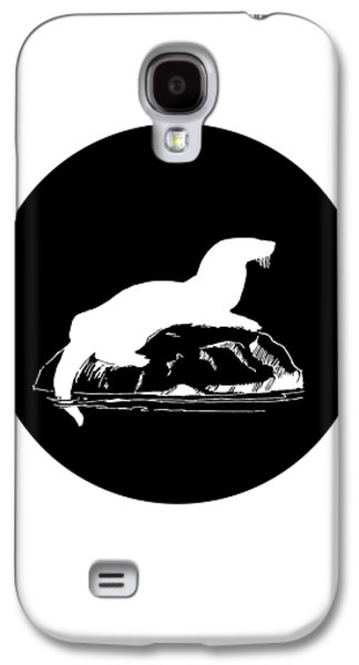 Otter Galaxy S4 Case by Mordax Furittus