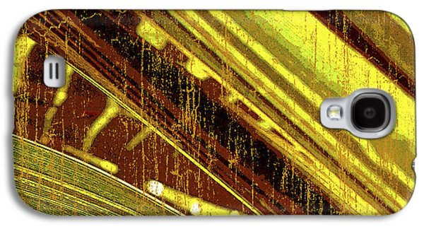 Abstract Digital Mixed Media Galaxy S4 Cases - Palm B2 Galaxy S4 Case by Kaypee Soh - Printscapes