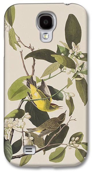 Palm Warbler Galaxy S4 Case by John James Audubon