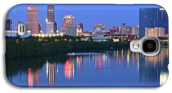 Panoramic Indianapolis Galaxy S4 Case by Frozen in Time Fine Art Photography